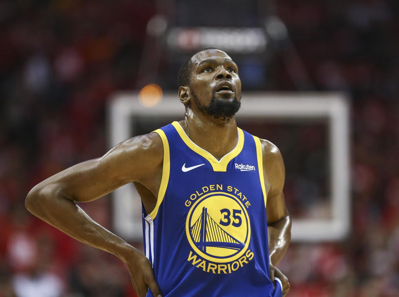 Kevin Durant Warriors Rockets Game 4 2019 Playoffs