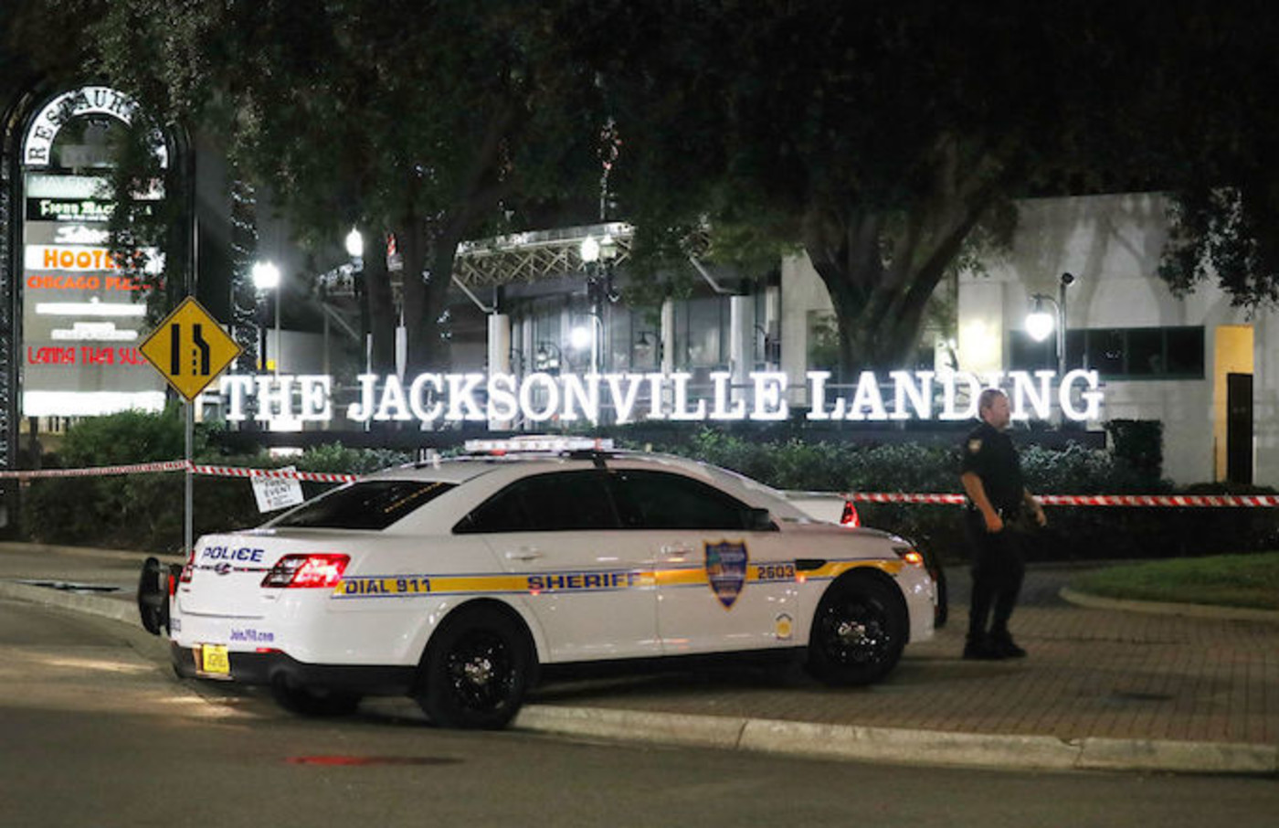 Jacksonville Shooting police