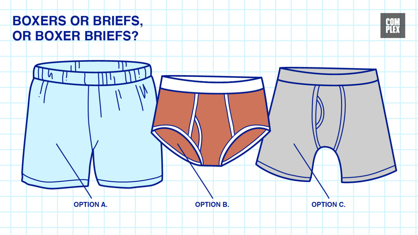 Boxers Or Briefs How To Buy Underwear For Men Complex