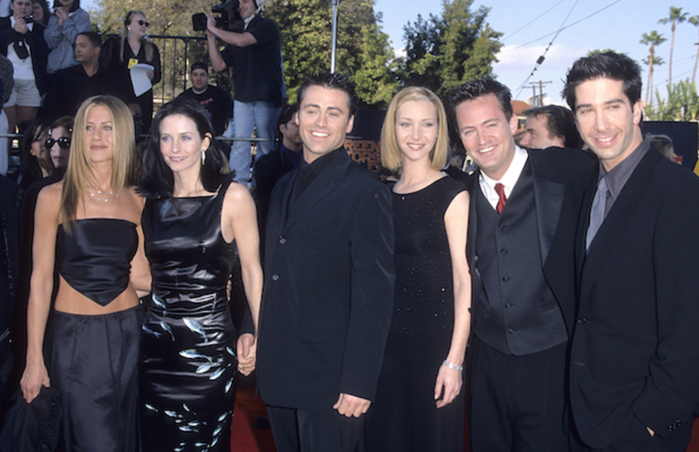 """Friends"" cast attends 1999 Screen Actors Guild Awards."