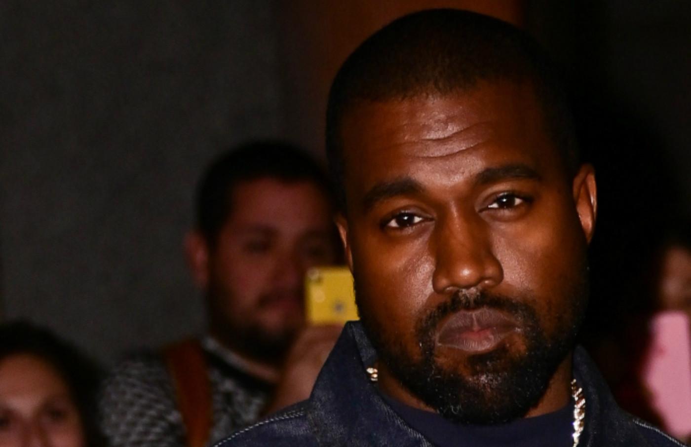 Kanye West and Kim Kardashian West arrive to Fashion Group International's 2019 Night of Stars