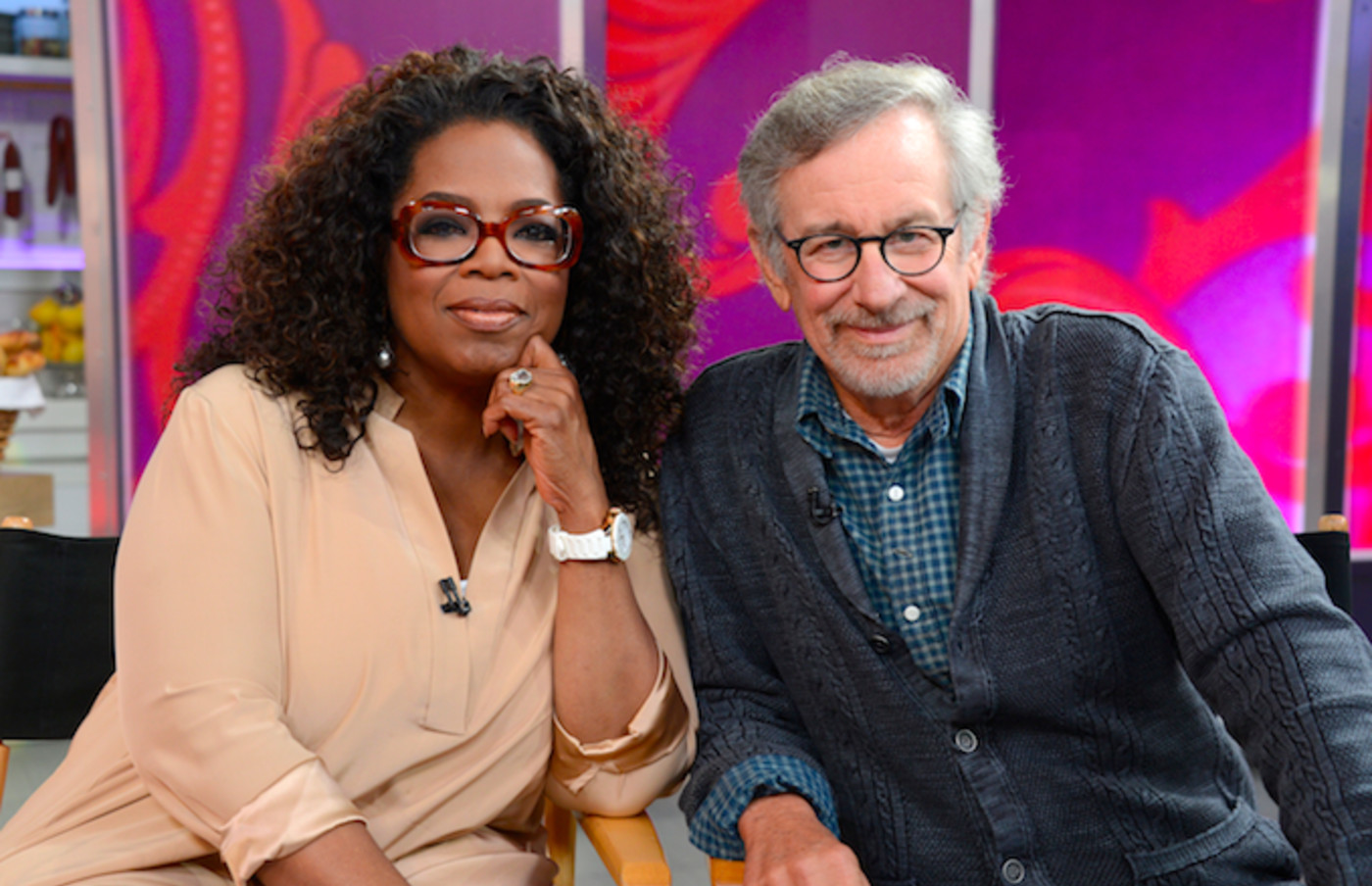 Oprah and Steven Spielberg