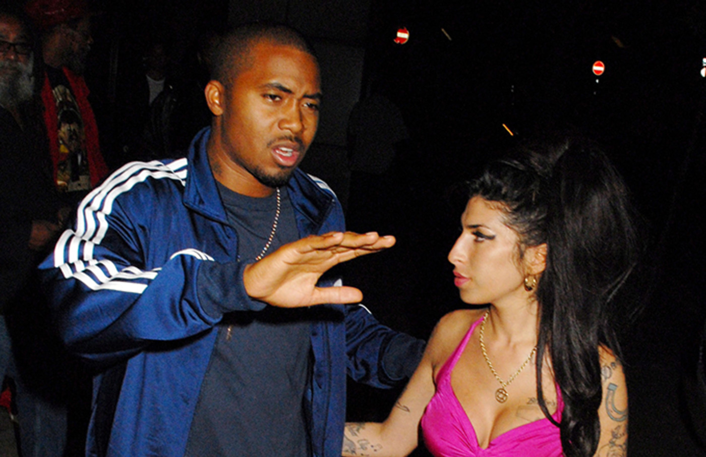 Nas and Amy Winehouse