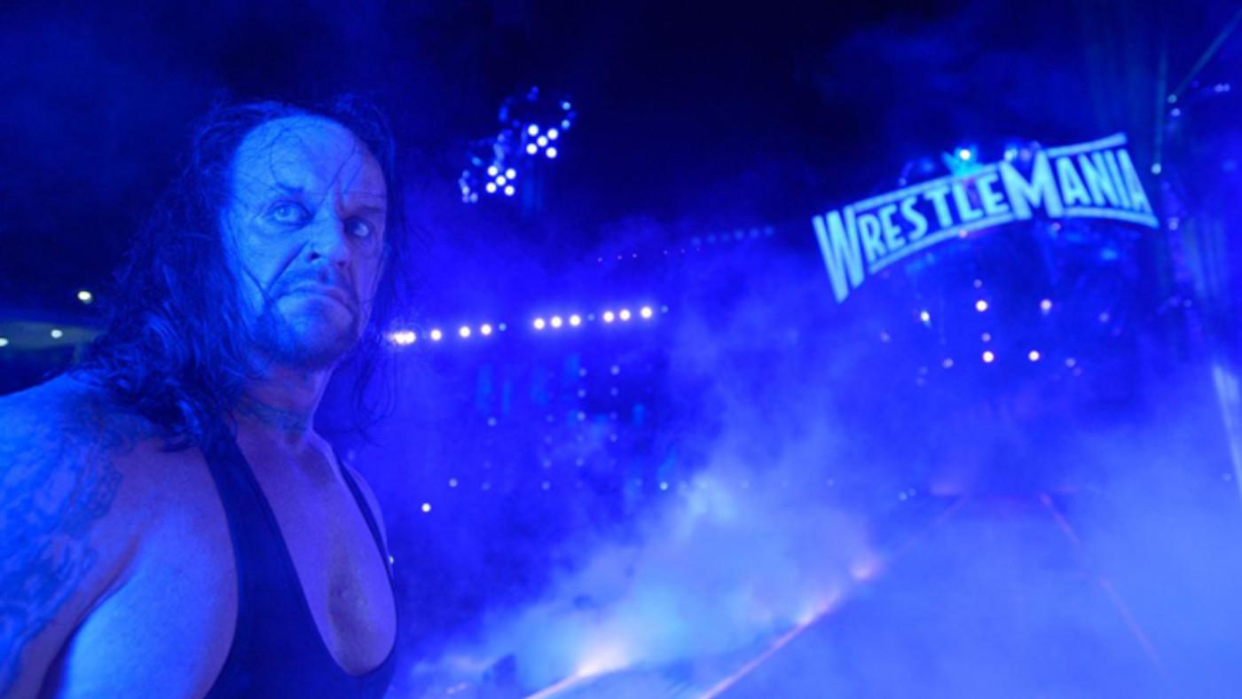 The Undertaker at Wrestlemania 33
