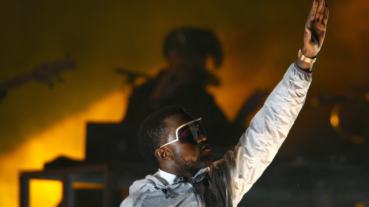 Kanye West at Lollapalooza