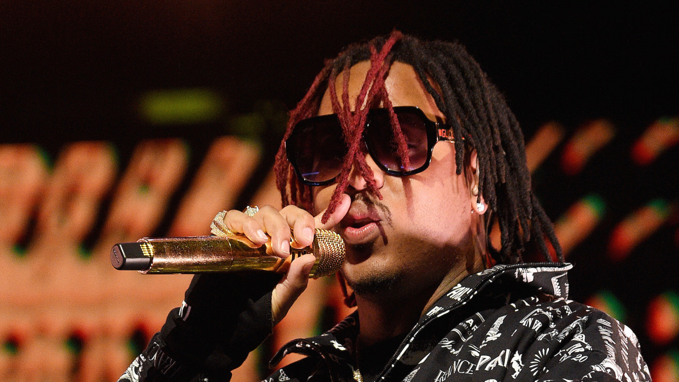 Jeremih performs during 2020 State Farm All-Star Saturday Night