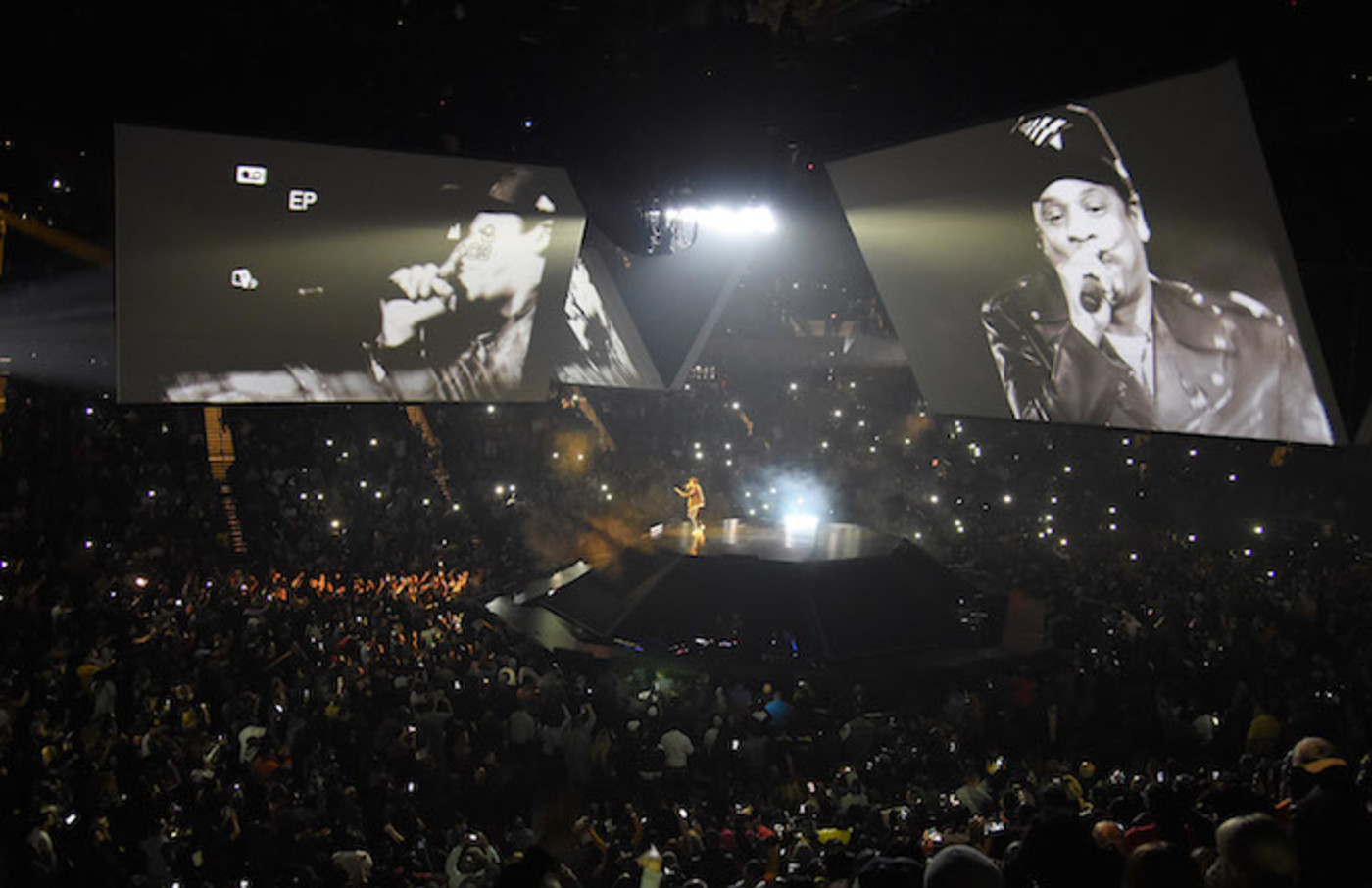 Jay-Z performs during his '4:44 Tour'