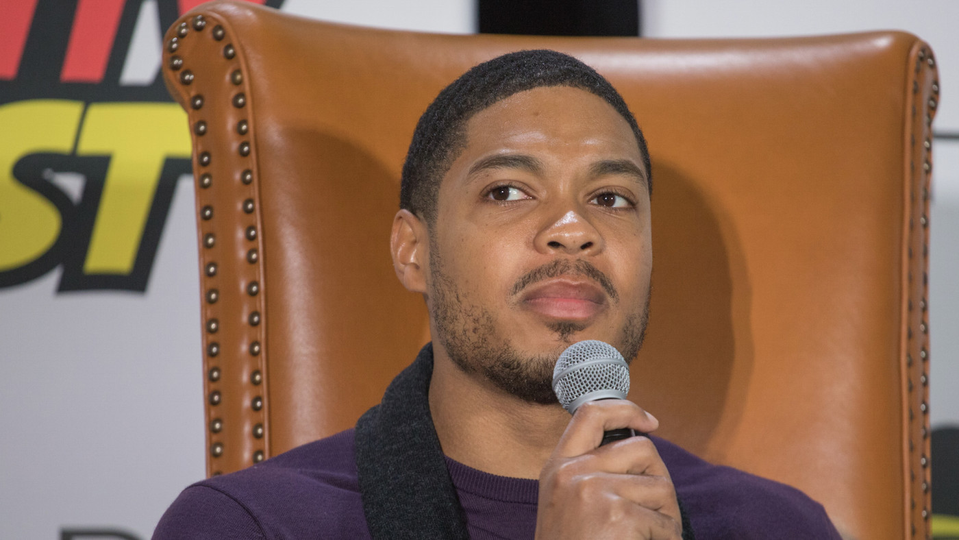 """Actor Ray Fisher attends """"Cyborg Culture"""" during Celebrity Fan Fest"""