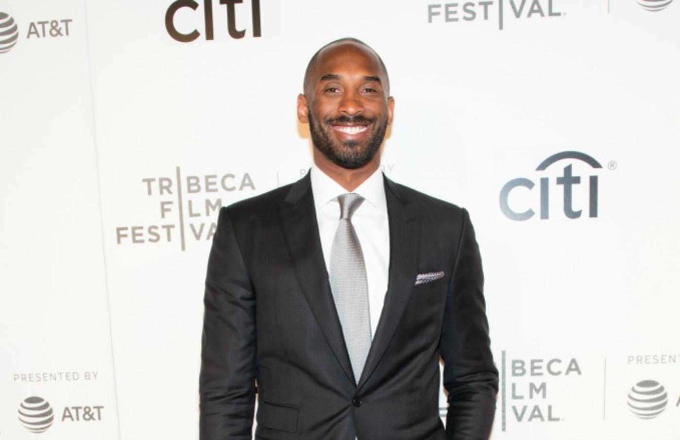 Kobe Bryant hits the red carpet at the Tribeca Film Festival.