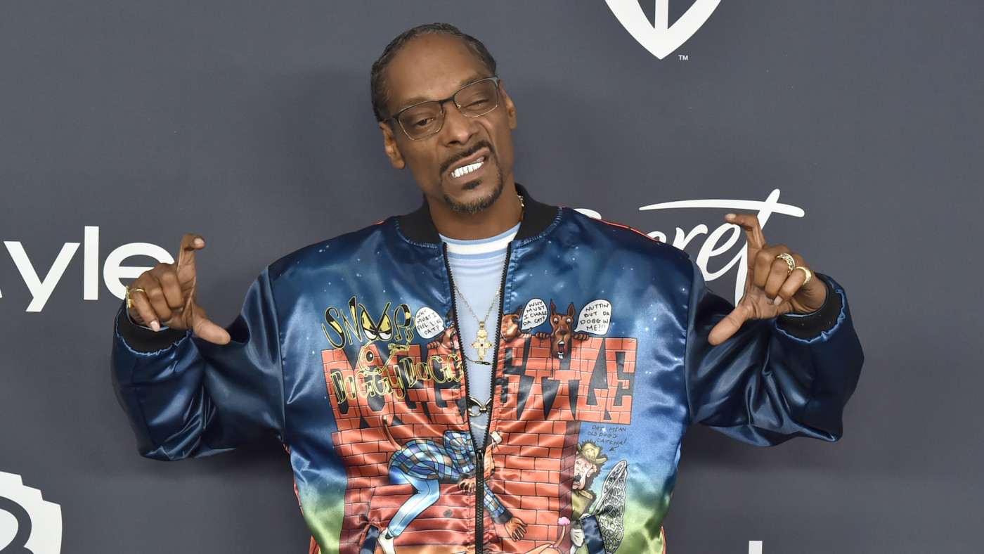 Snoop Dogg attends the Warner Brothers and InStyle 21st Annual Post Golden Globes After Party