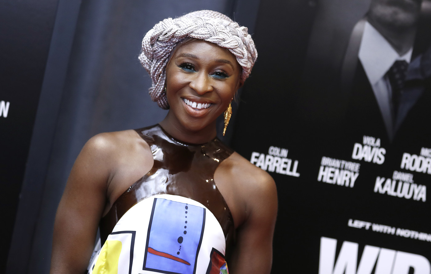 Cynthia Erivo attends 'Widows' screening at Brooklyn Academy of Music