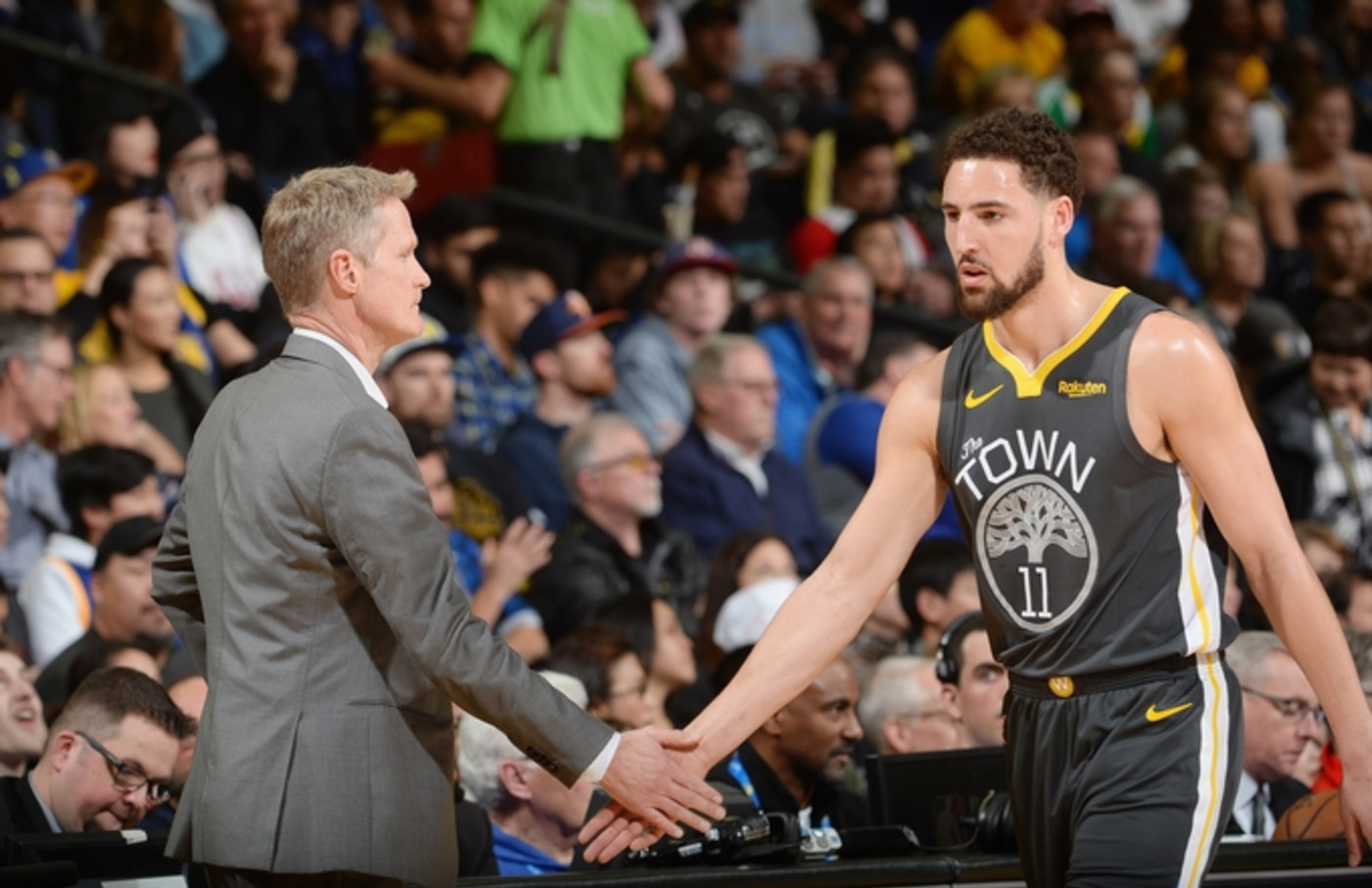 klay-thompson-steve-kerr
