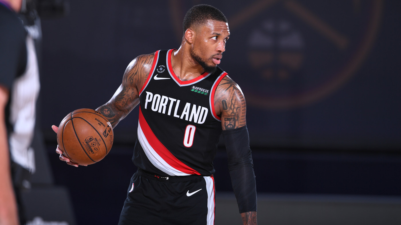 This is a photo of Dame Lillard.