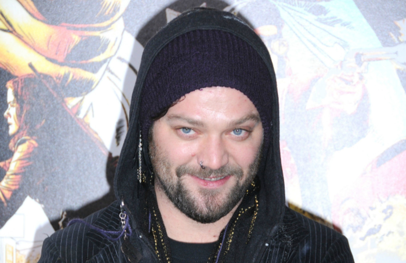 TV personality Bam Margera