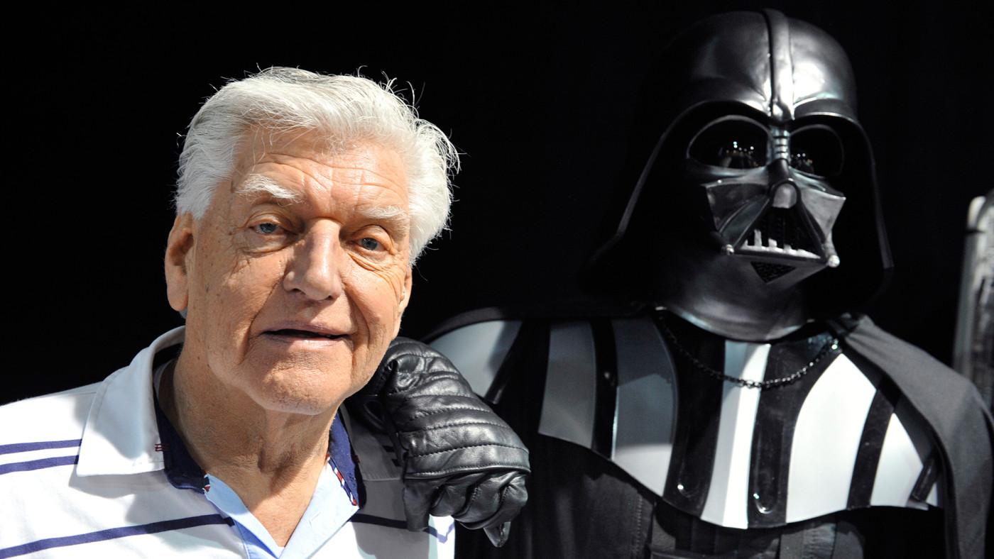 David Prowse and Darth Vader