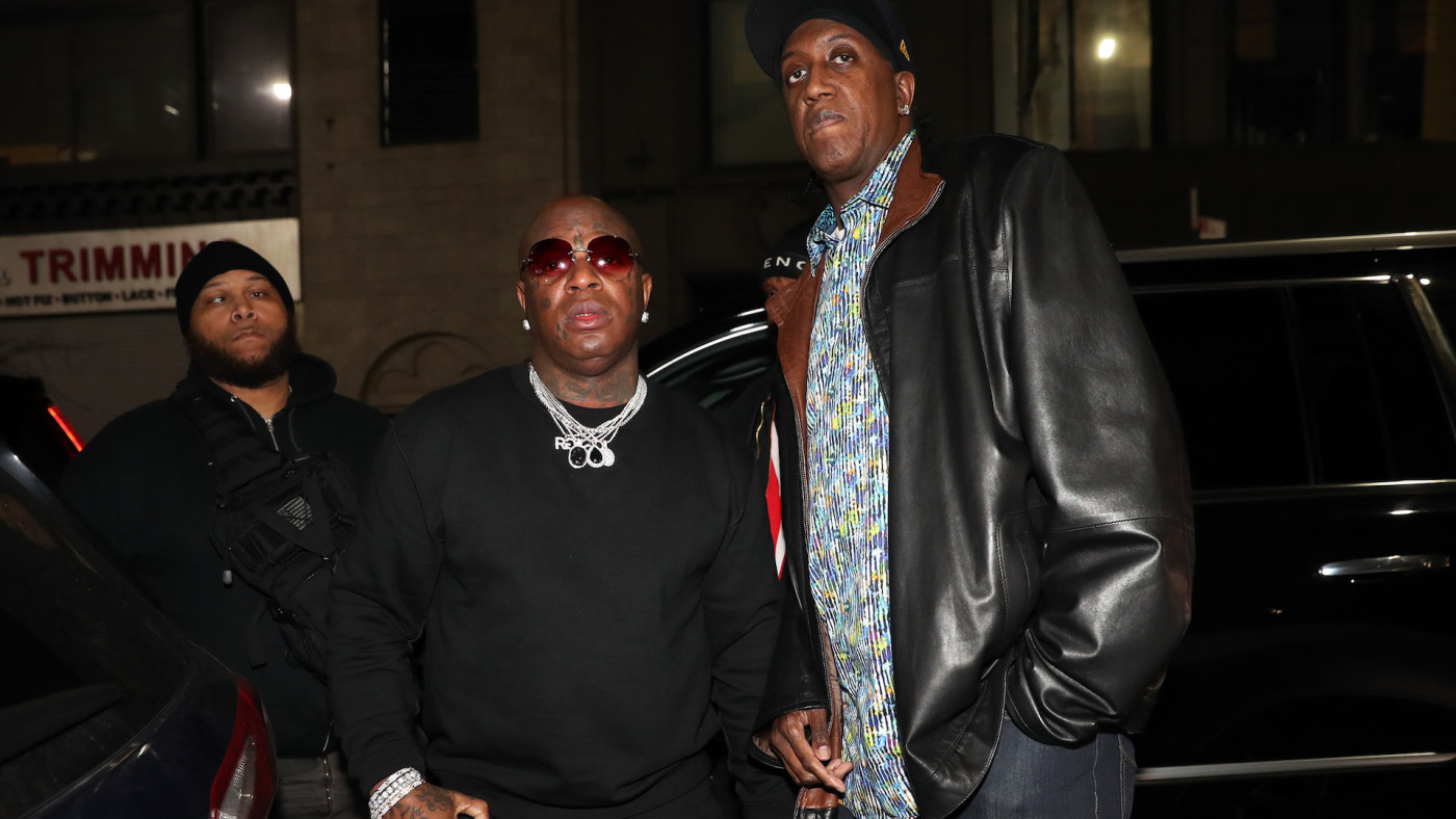 "Bryan ""Birdman"" Williams and Ronald ""Slim"" Williams attend ""New Cash Order"" Doc."