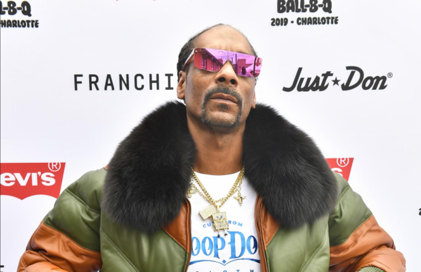 Rapper Snoop Dogg attends Levi's® All-Star Weekend Ball-B-Q