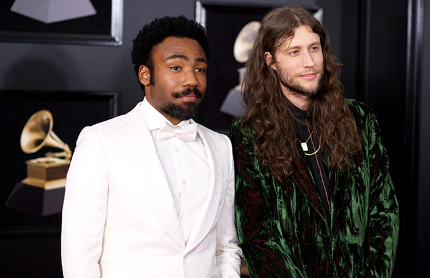Donald Glover and Ludwig Goransson.