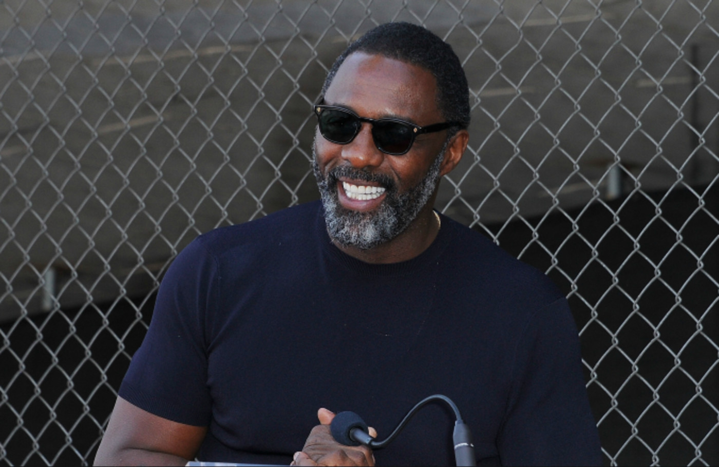 Idris Elba speaks at Tyler Perry's Star Ceremony On The Hollywood Walk Of Fame