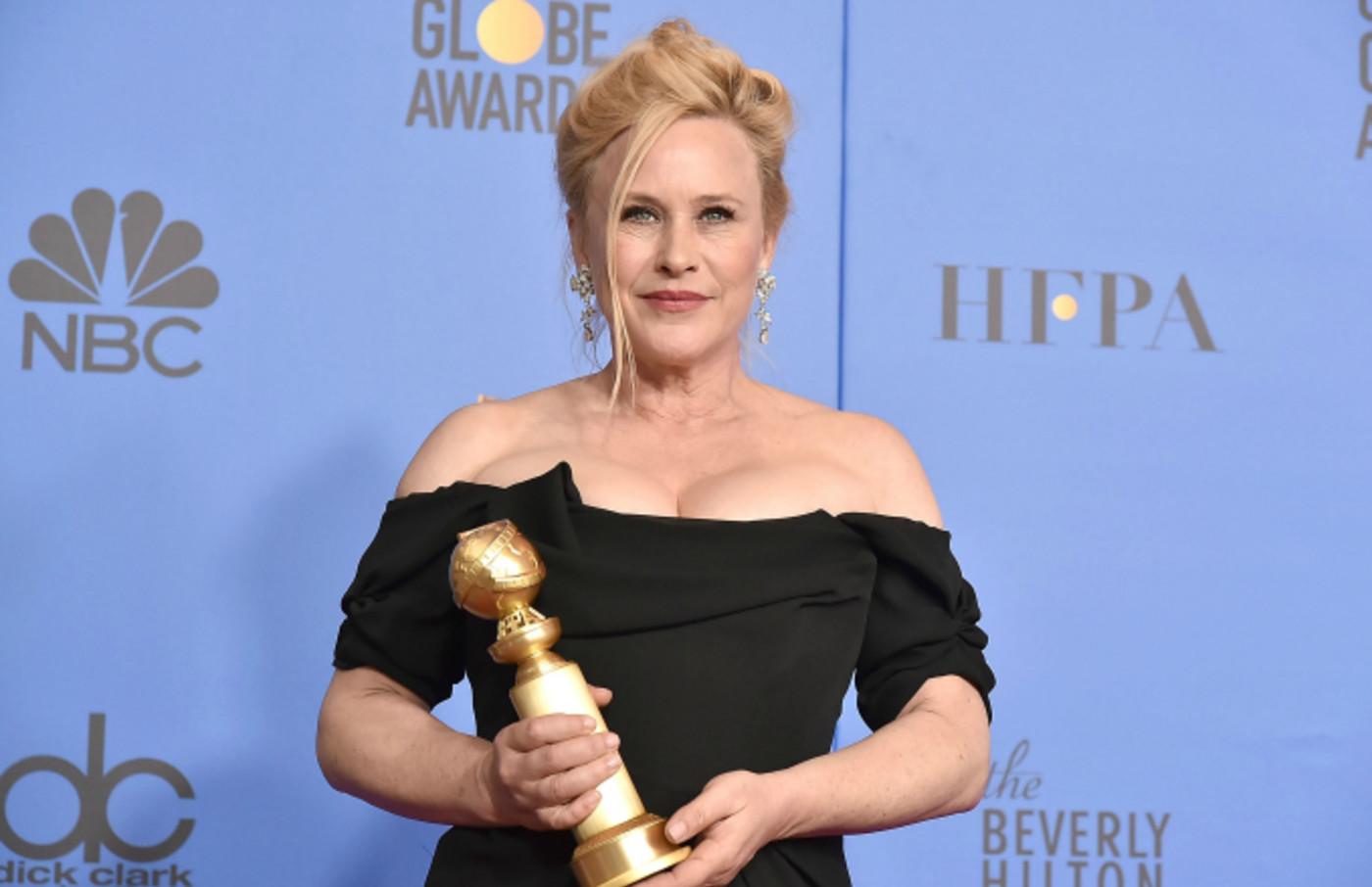 Patricia Arquette attends the 76th Annual Golden Globe Awards
