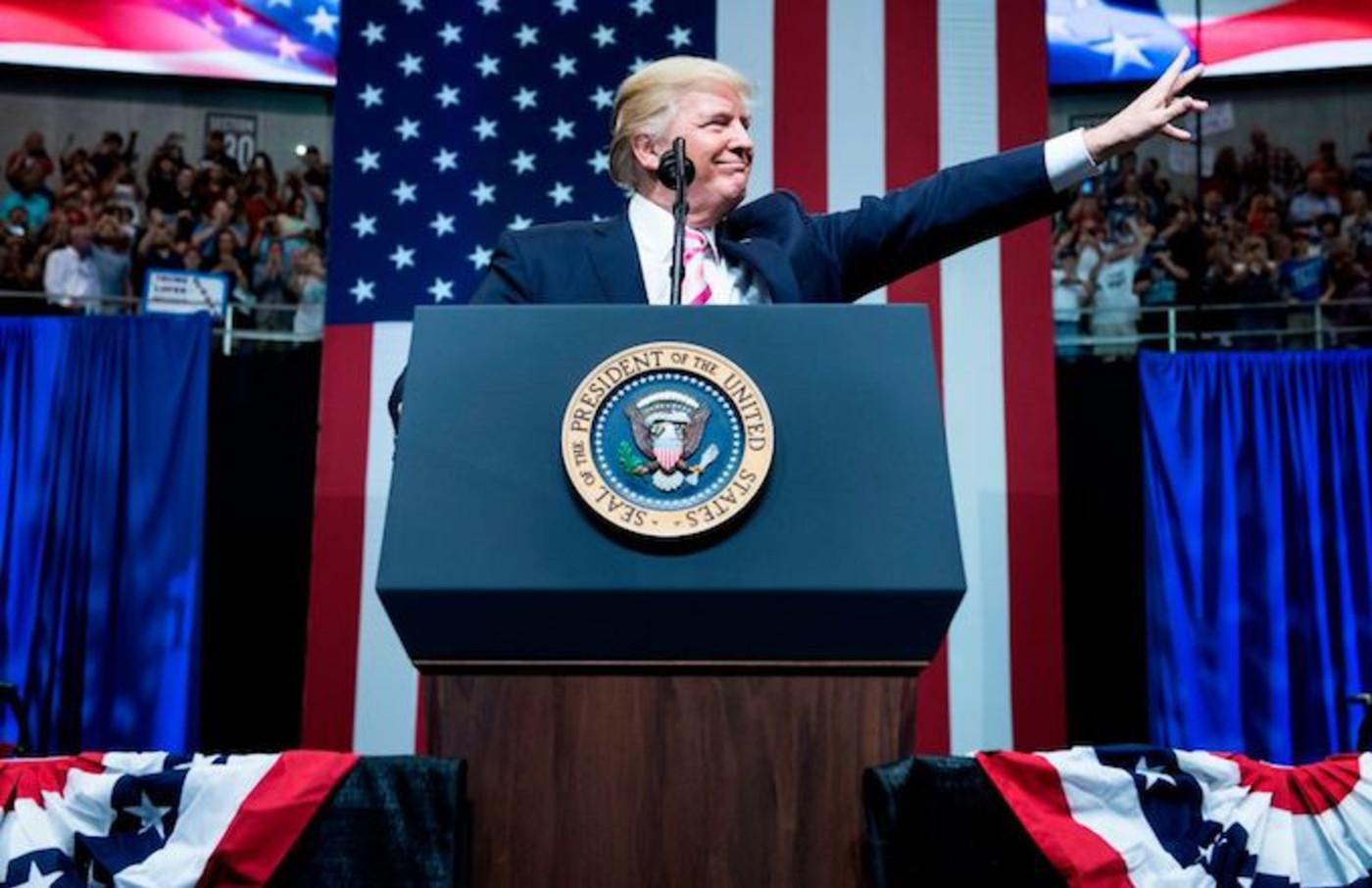Donald Trump Alabama rally
