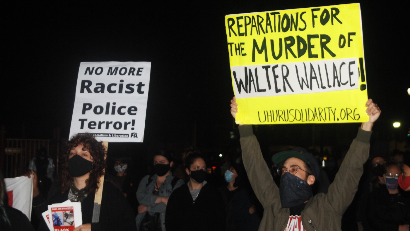 Walter Wallace Jr. protest