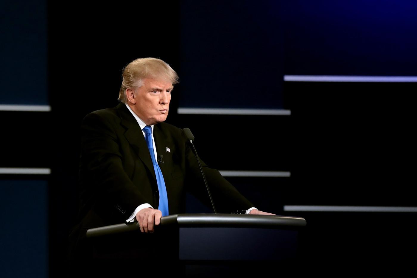 Donald Trump at Debate