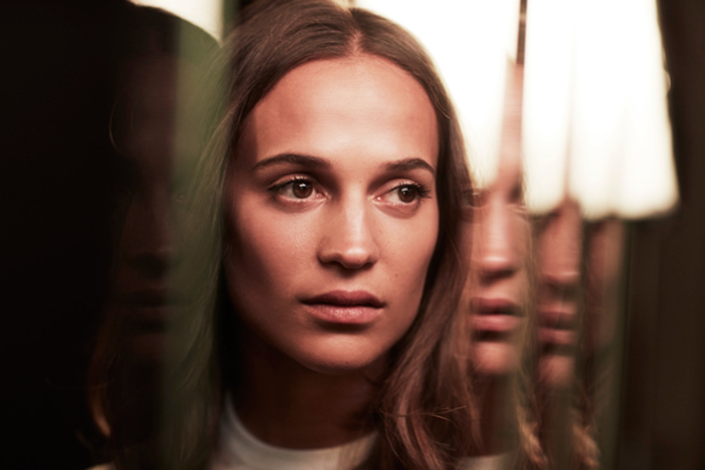 Alicia Vikander poses for a portrait during TIFF 2017