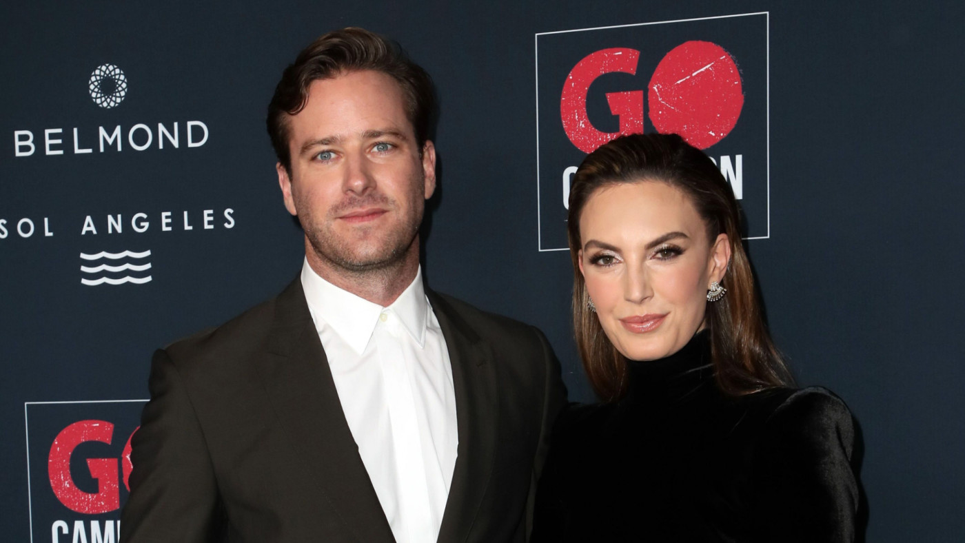 Armie Hammer and Elizabeth Chambers attend the Go Campaign's 13th Annual Go Gala.