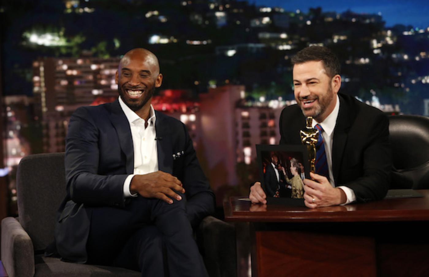 Kobe Bryant, Jimmy Kimmel