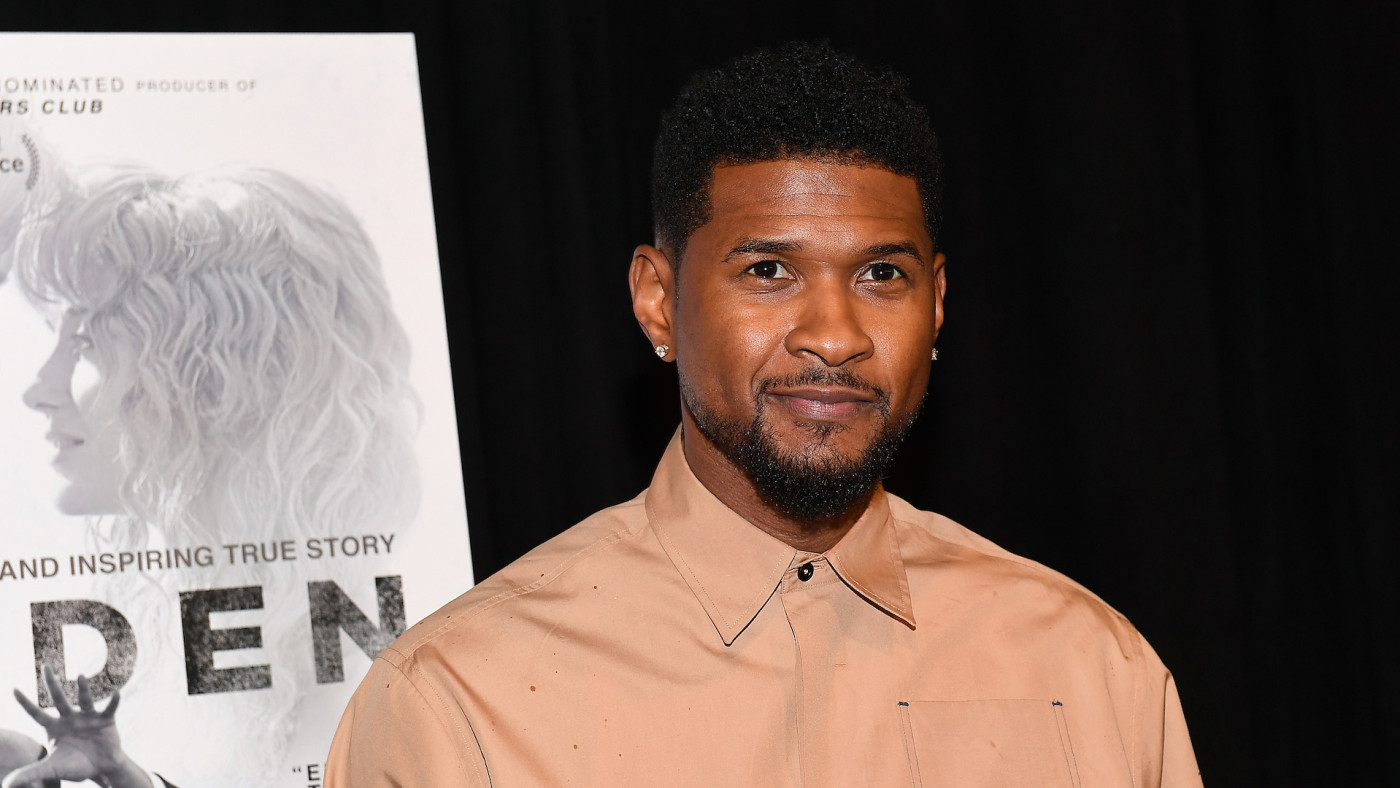 "Usher Raymond IV attends the ""Burden"" Atlanta Red Carpet Screening"