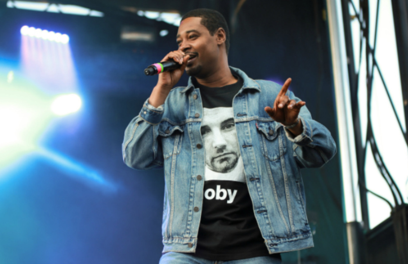 Danny Brown performs at 2019 Afropunk Brooklyn at Commodore Barry Park