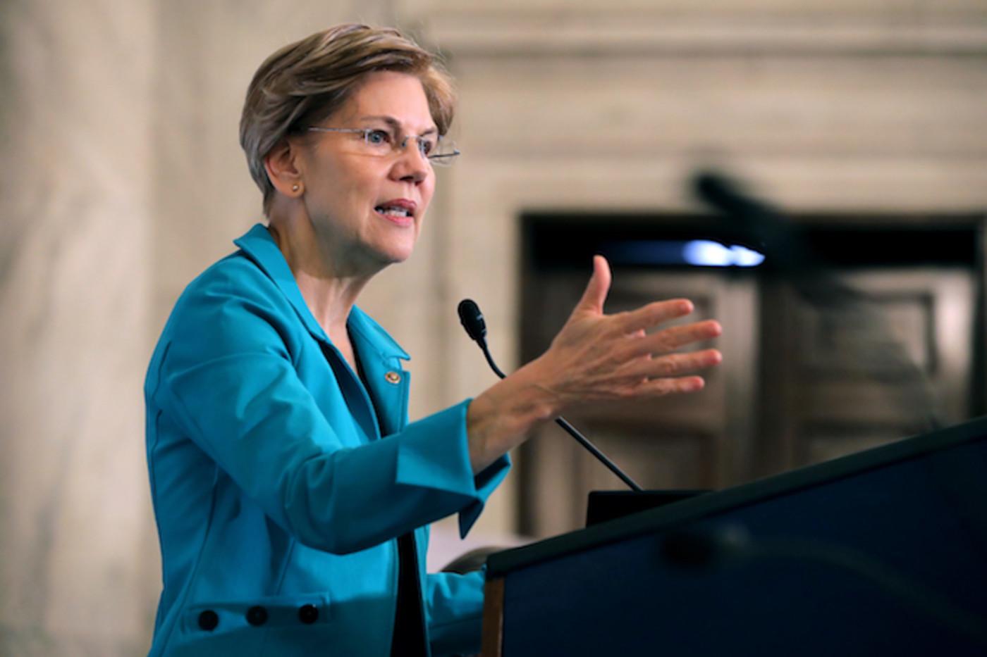 Elizabeth Warren in DC