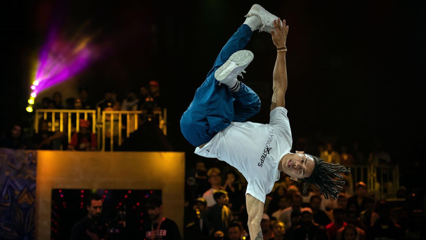 Brazil's breakdancer Mateus de Sousa Melo aka Bart