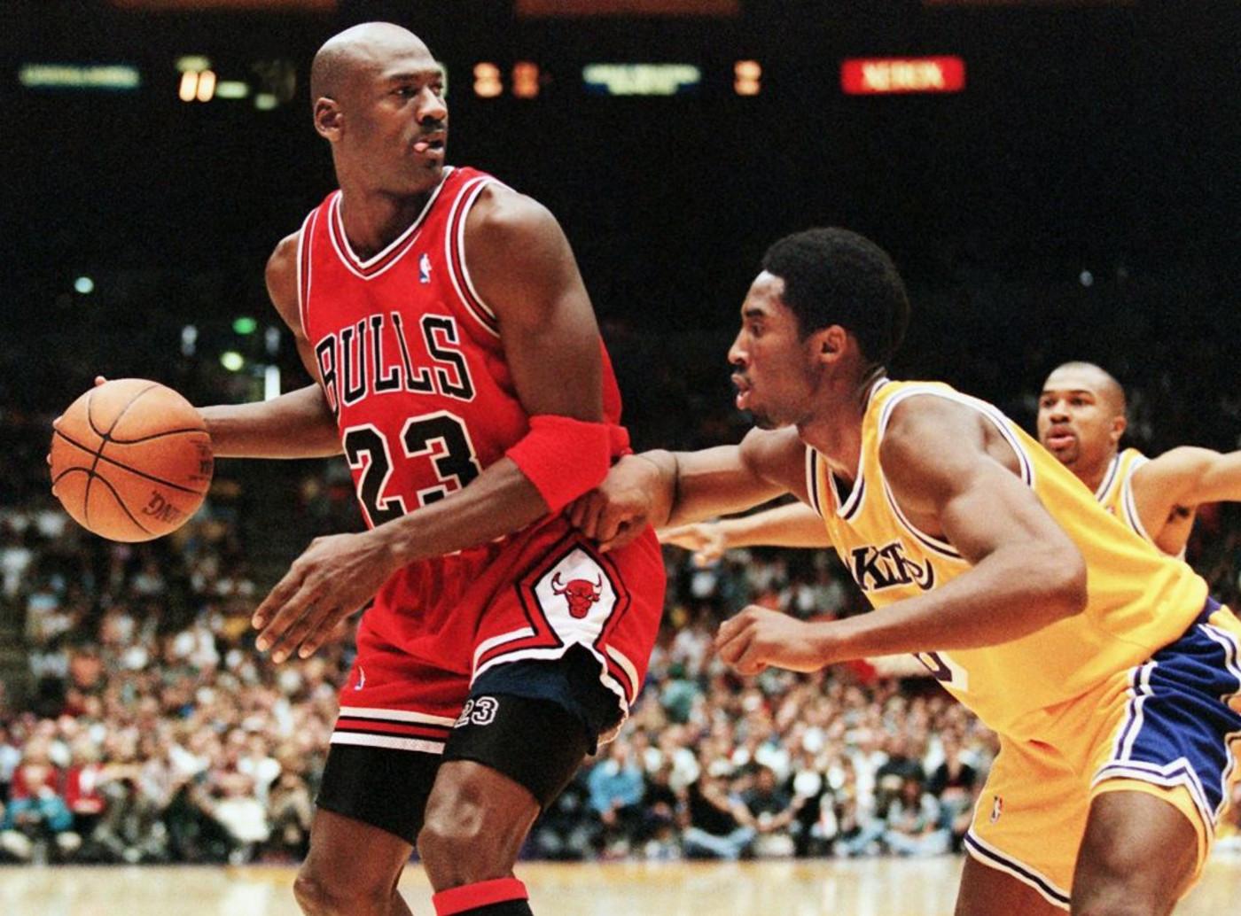 Michael Jordan Kobe Bryant 1998 Los Angeles