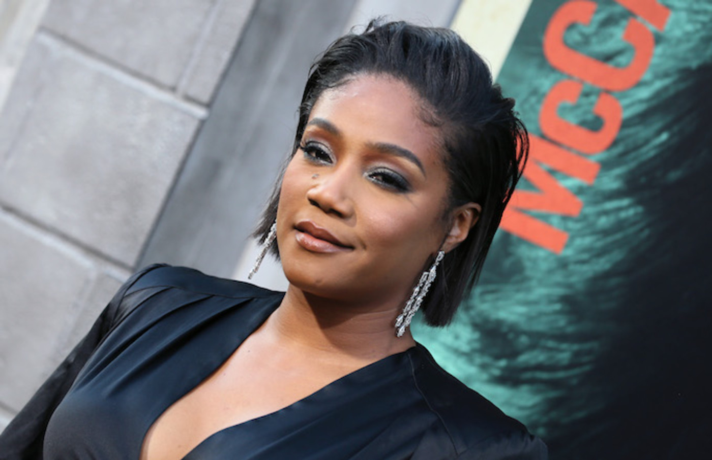 """Tiffany Haddish attends the premiere of """"The Kitchen."""""""