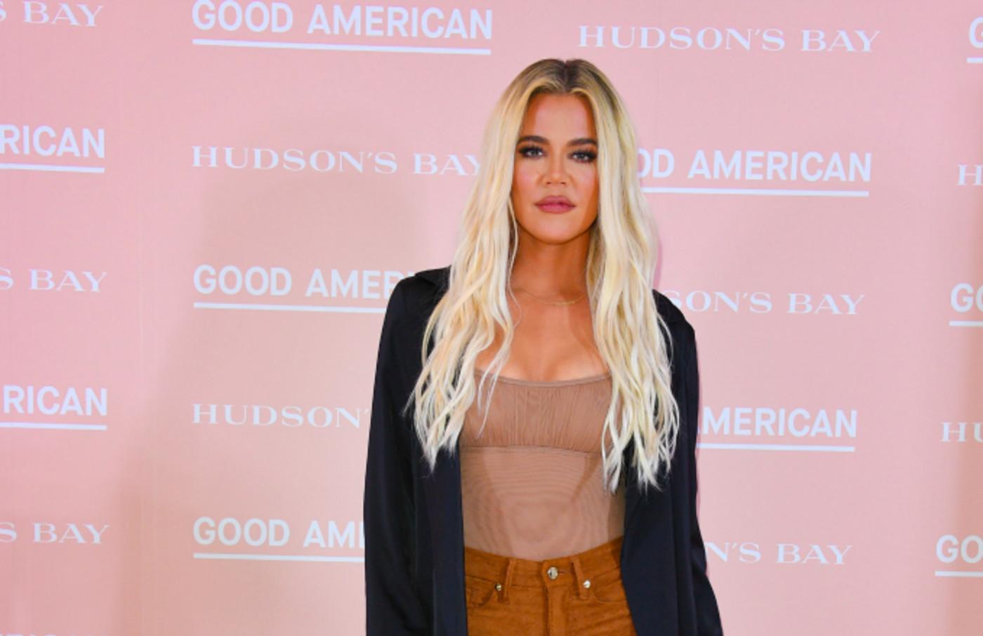 Khloe Kardashian attends Hudson's Bay's launch of Good American