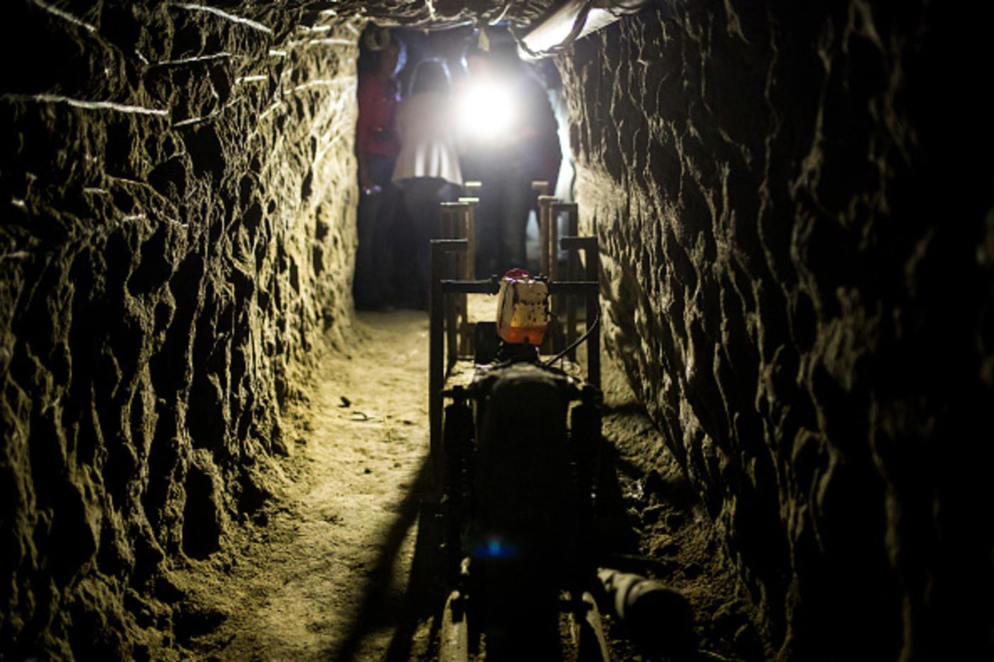 El Chapo Escape Tunnel