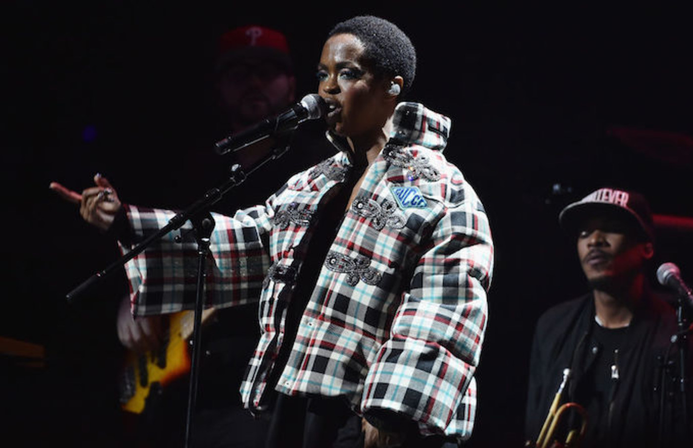 Lauryn Hill  late as usual