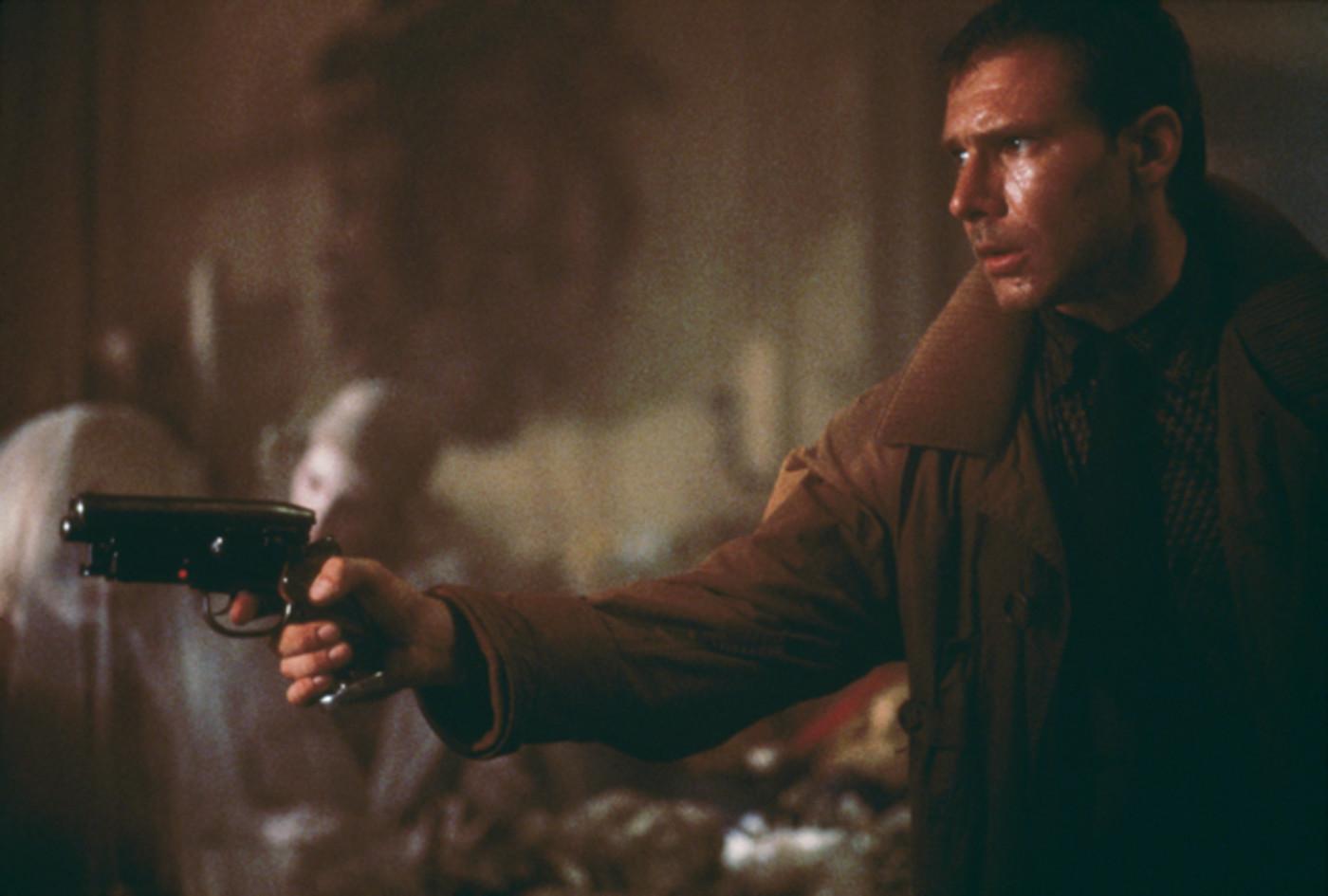 Harrison Ford in 'Blade Runner'