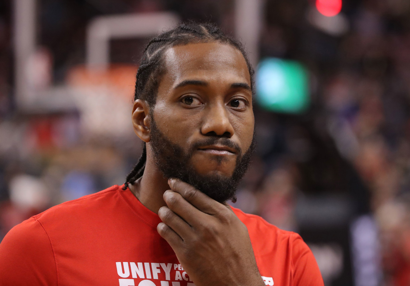 Kawhi Leonard Raptors Clippers Feb 2019