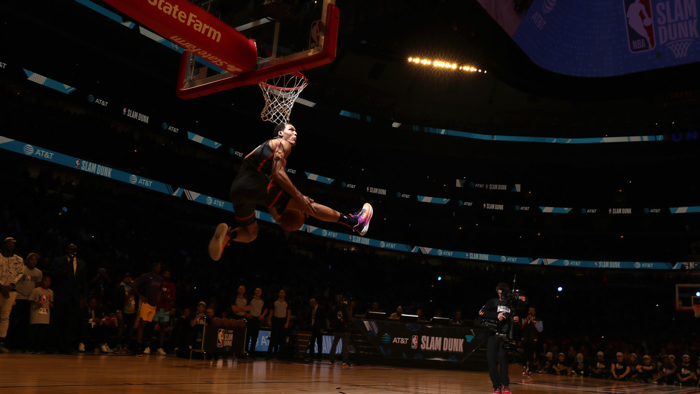 This is a photo of Aaron Gordon.