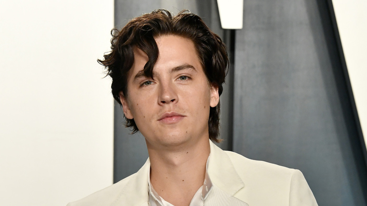 Cole Sprouse attends the 2020 Vanity Fair Oscar Party