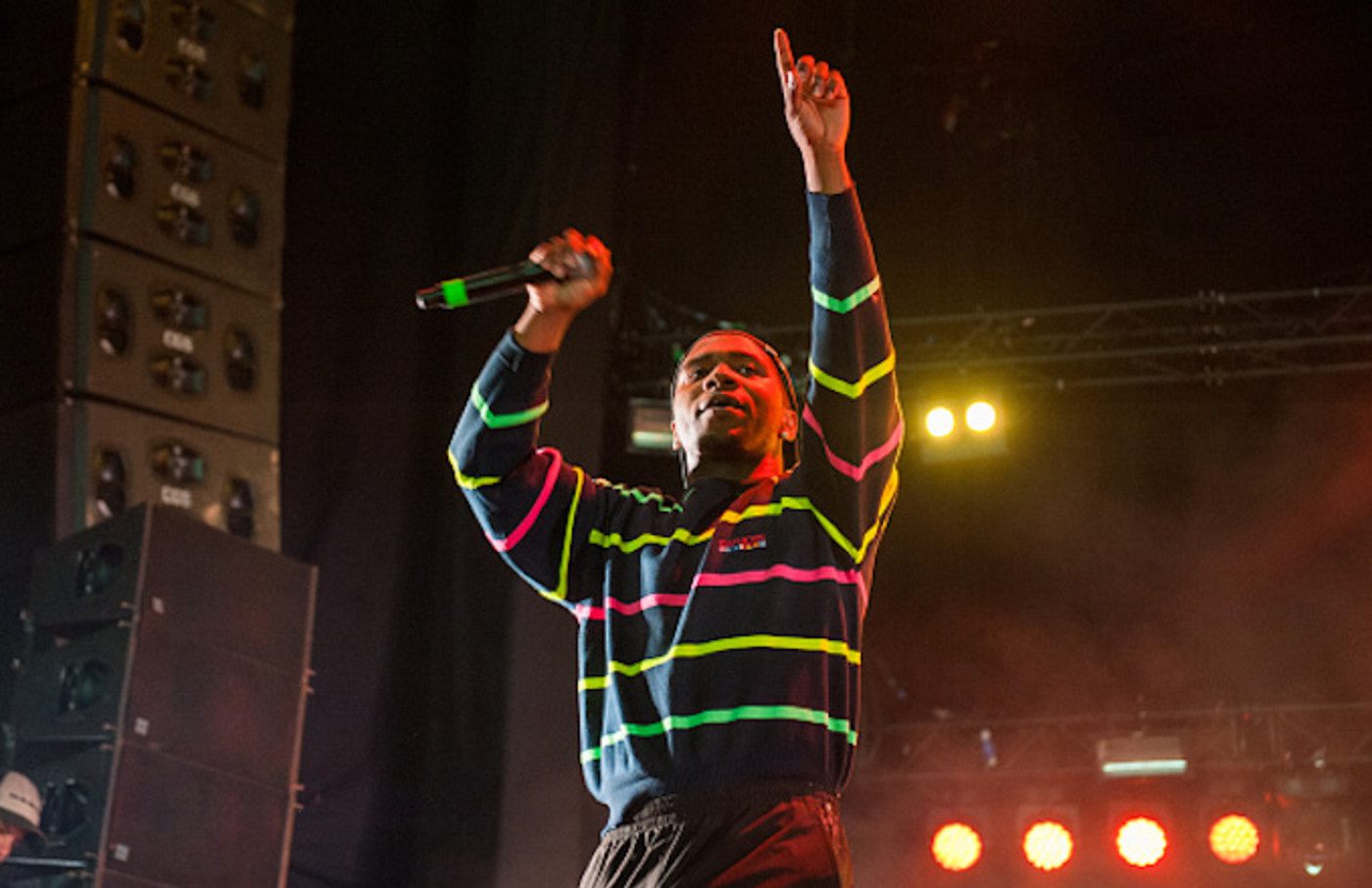 Lil B performs live on August 12, 2016 in Helsinki, Finland