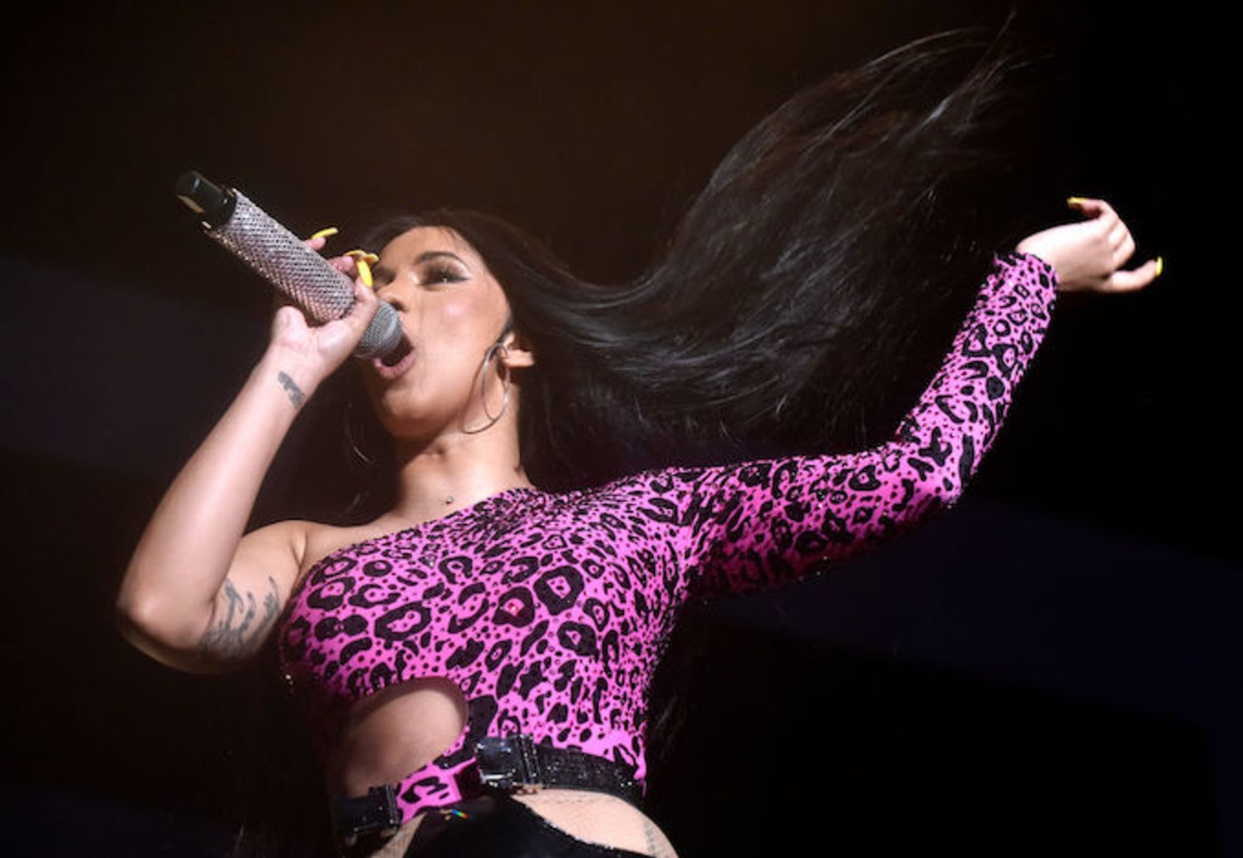 This is a picture of Cardi B.