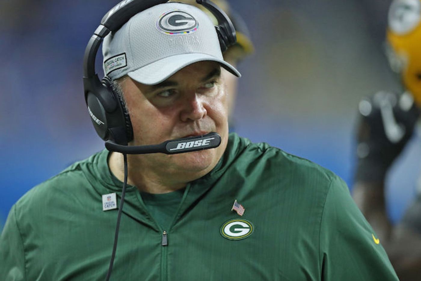 This is a picture of Mike McCarthy.