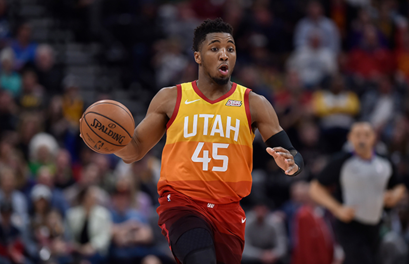 This is a photo of Donavan Mitchell.