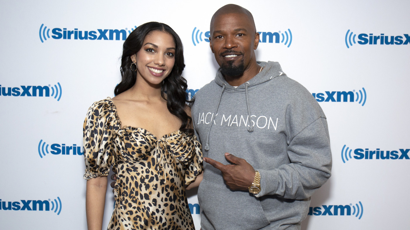 Corinne and father Jamie Foxx