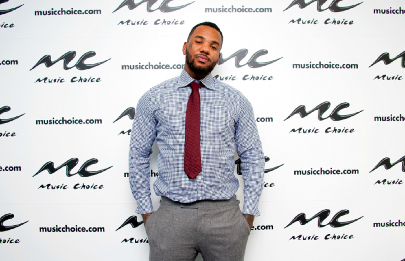 Rapper The Game visits Music Choice