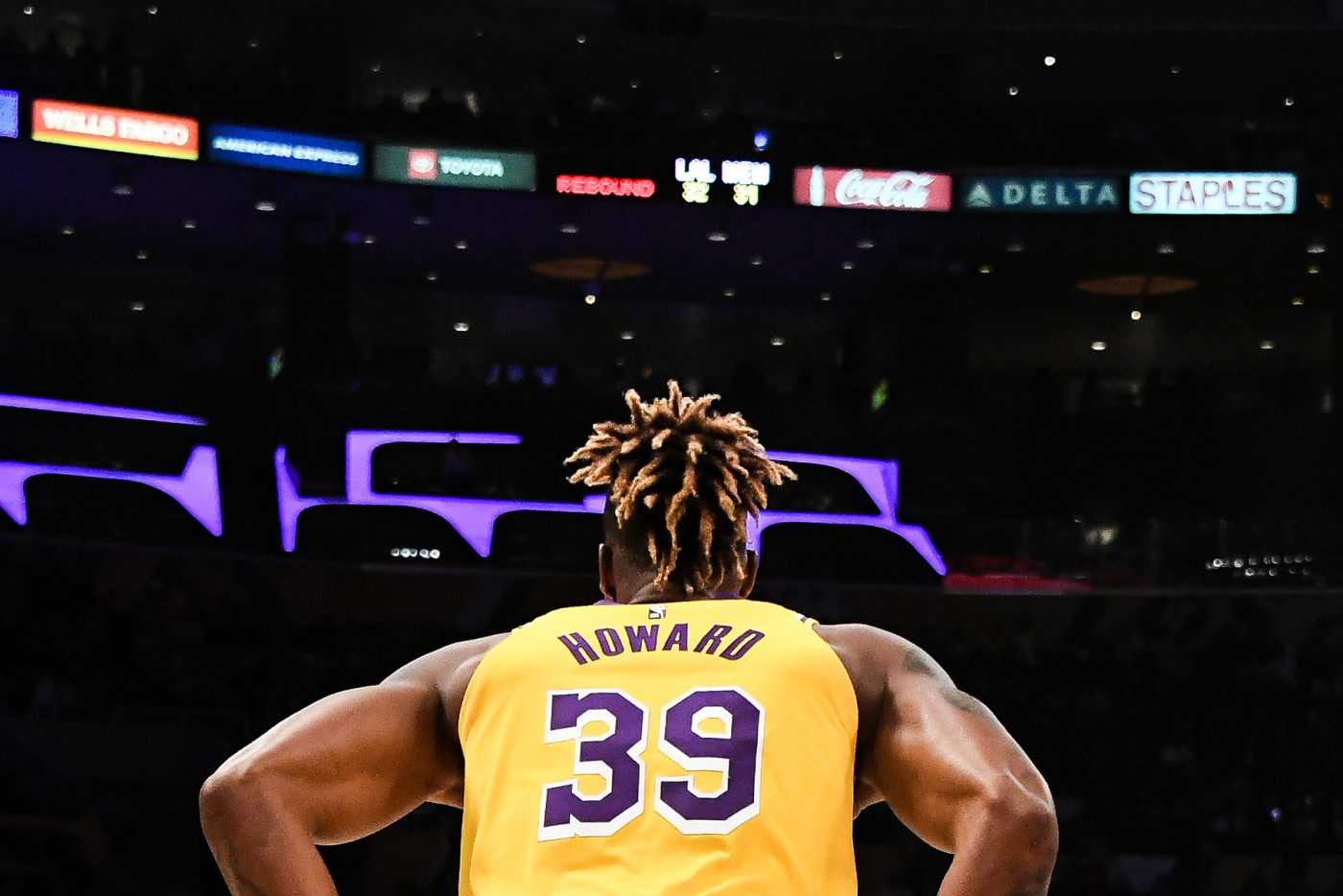 Dwight Howard Lakers Staples Center 2019